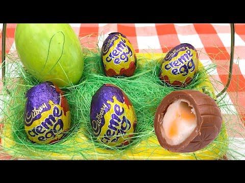 ?Recept na Velikonoční čokoládová vajíčka plněná krémem?
