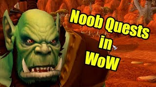 Noob Quests in World of Warcraft (WoW Machinima) by Wowcrendor