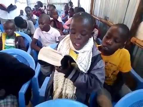 The Creation Story Taught to Children - Kibera Slum Kenya