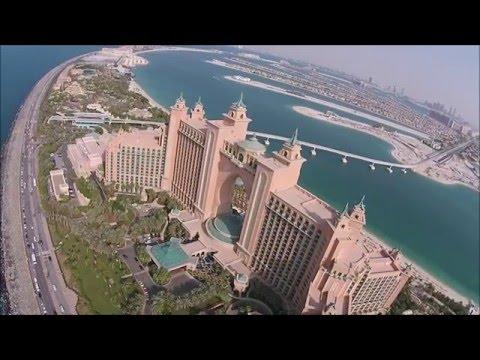 Dubai Palm Jumeirah – Aerial Video (PhantomVision+)