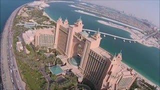 Dubai Palm Jumeirah - Aerial Video (PhantomVision+)