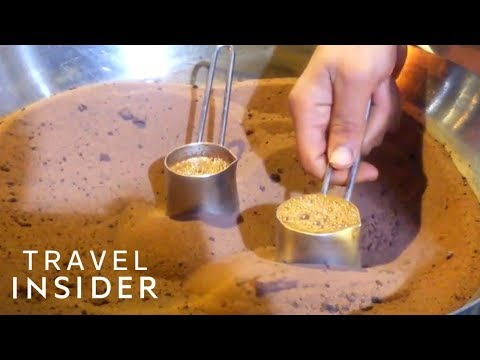 Turkish Coffee Is Made With Very Hot Sand
