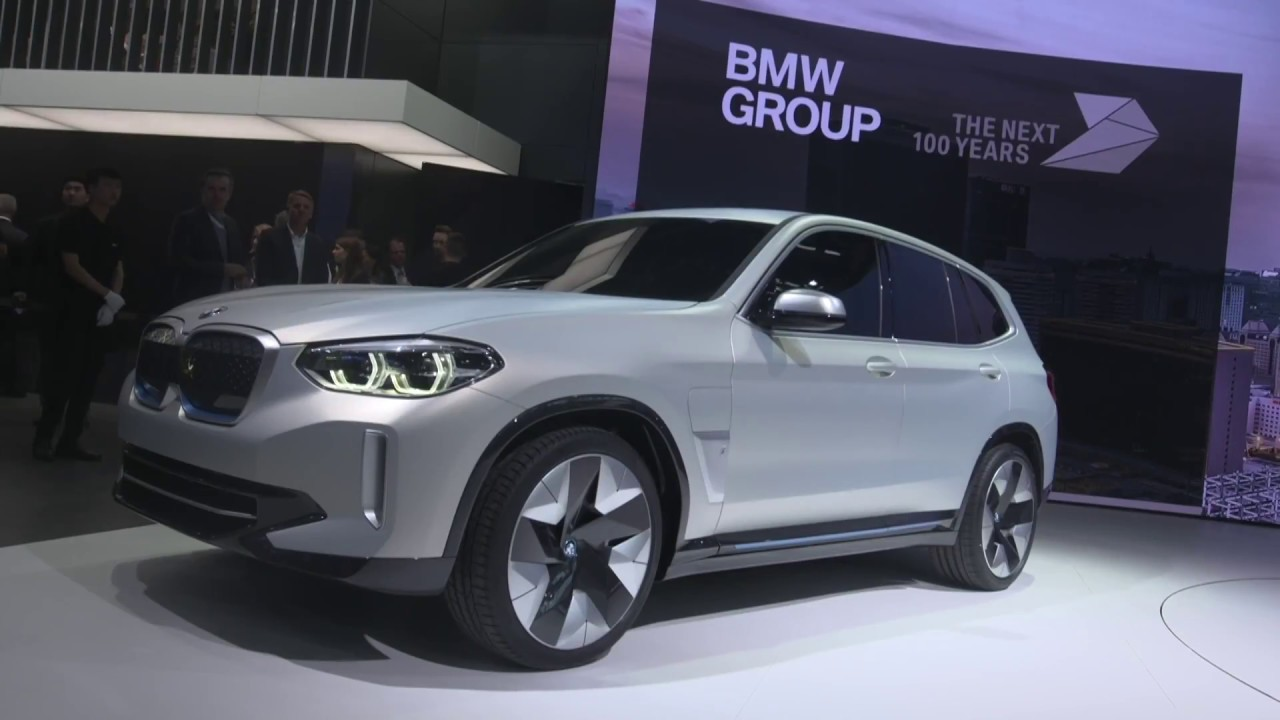 bmw x3 electric suv  ix3  - coming in 2020