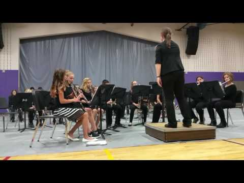 Palmyra Eagle Middle School Band Oct 2016