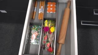 видео TIP-ON - открывание от нажатия без ручки. | Интернет-магазин мебельной фурнитуры и аксессуаров для кухни | Кухонная фурнитура и комплектующие