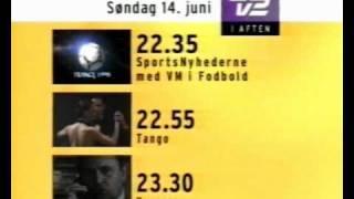 TV2 programoversigt 14.06.98