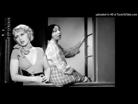Joan Blondell And Etta Moten: My Forgotten Man (1933)