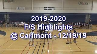 2019-2020 LHS Basketball Highlights:  F/S vs. Carlmont