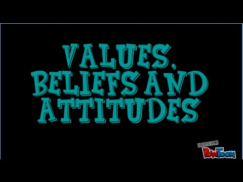 the attitudes and values on the Values, attitudes, and behaviours: the essential environment the most important element in the learning environment is invisible it is made up of the values, attitudes, and actions that we.