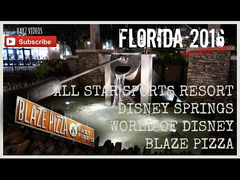 SURPRISE DISNEY VACATION 2016 - DAY 4 - SWIMMING AT ALL STAR SPORTS RESORT & DISNEY SPRINGS (3/3)
