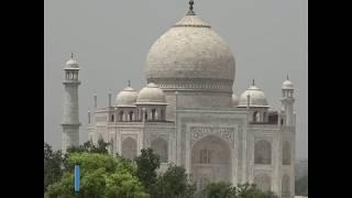 印度泰姬陵在新冠疫情中重新开放