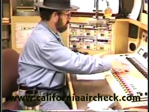KRTH Los Angeles K-Earth-101 Shotgun Tom Kelly 1998 California Aircheck Video