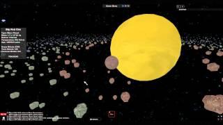 ROBLOX: Solar System Simulator Showcase
