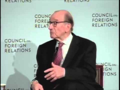 Alan Greenspan on Gold @ Council on Foreign Relations 2014