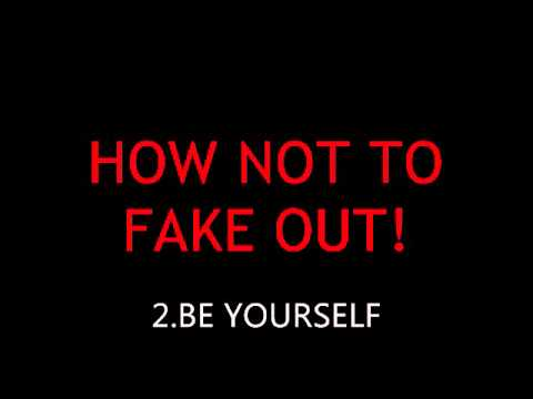 dont fake yourself