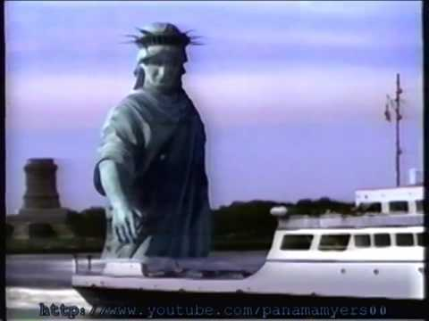 Statue of Liberty Oldsmobile Aurora Commercial 1996