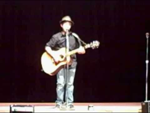 Angelo Maruzzelli Tunkhannock Middle School 7th grade talent show  Wonderwall Oasis
