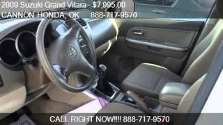 2009 Suzuki Grand Vitara  for sale in Ponca City, OK 74601 a