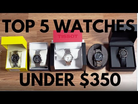 Top 5 Watches Under $350 | Jomashop