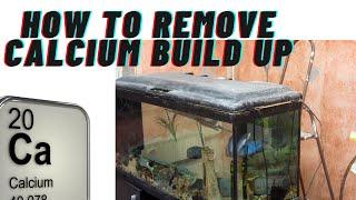Comment faire pour supprimer les dépôts de calcium ou blanc construire