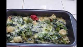 Spinach Pasta With Cocconut Milk