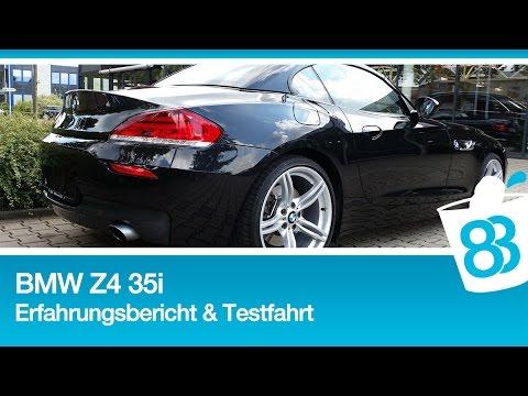 Bmw Z4 35i Erfahrungsbericht Testfahrt Autobahn Und Auspuff Sound