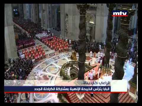 Mass - Vatican 25/11/2012