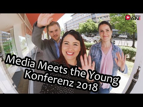 Media Meets the Young 2018 - Berlin Vlog |► SACH AN!