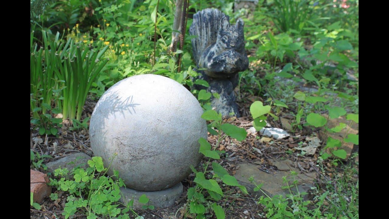 concrete garden sphere