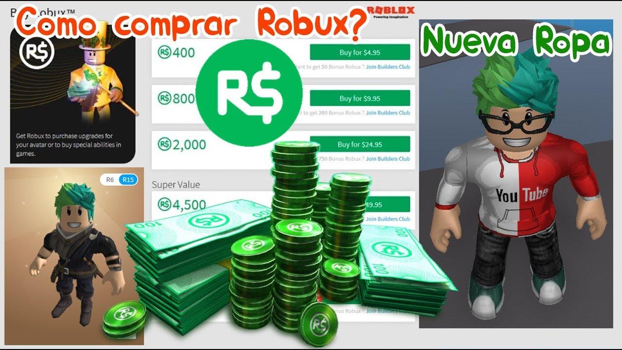 Como Comprar Robux Y Ropa En Roblox Quieren Robux Gratis - roblox como