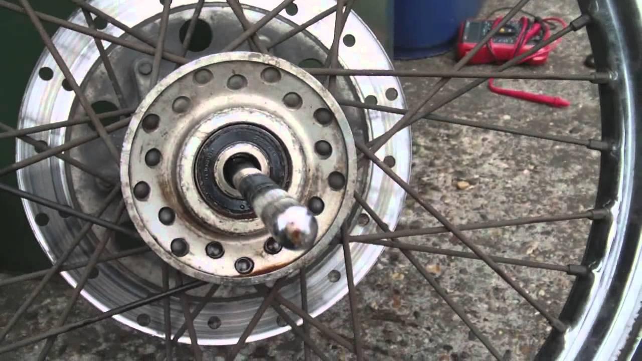 Motorcycle Wheel Bearing Replacement Youtube