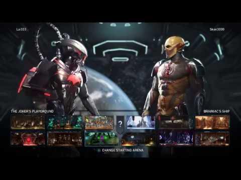 injustice 2 epic online sets Mr 5000(Reverse flash)vs lai133(black manta,enchantress,etc ) part 2