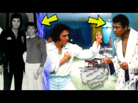 Elvis Presley Was A 7th Degree Black Belt Who Trained With Bruce Lee & Muhammad Ali?☯