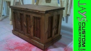 Build A Blanket Chest Video 1 - 007