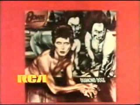 David Bowie - Diamond Dogs TV Commercial