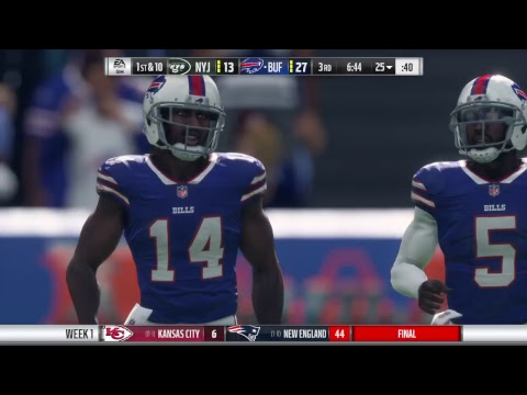 Madden 18 Jets franchise year 1- week 1 @ Bills (The Michael