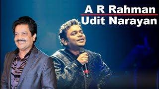 A R Rahman Udit Narayan Magic - Sahara In Palkon Ko Do | Romantic Melody
