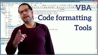 Better VBA 7 - Code formatting tools