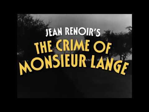 The Crime of Monsieur Lange - Trailer