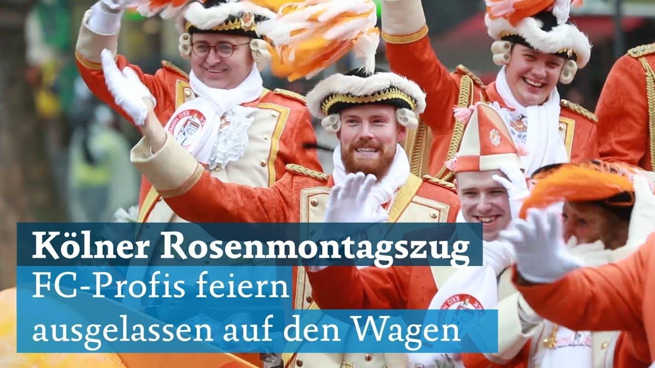Wagen Rosenmontagszug Köln