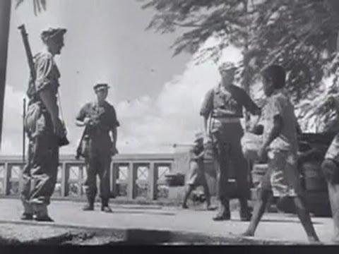 Jakarta, Indonesia- Tanah Abang Market in Film, June 1946