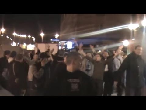 Взяли кубок УЕФА Улица Народная