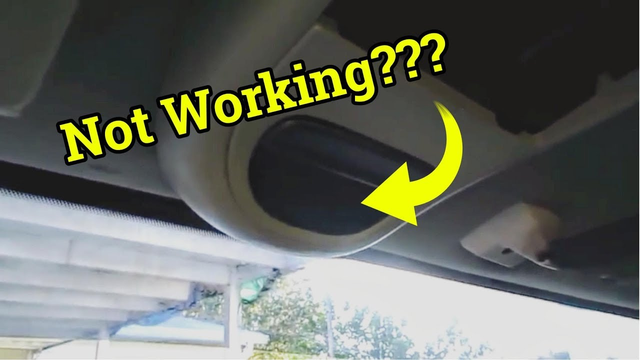 How To Fix Ford Overhead Console Display  Temperature