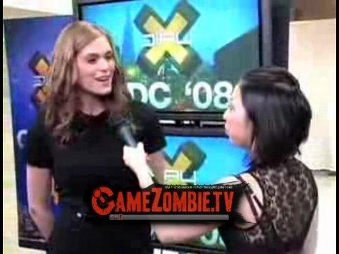 Morgan Webb - a GameZombie.tv Video Interview