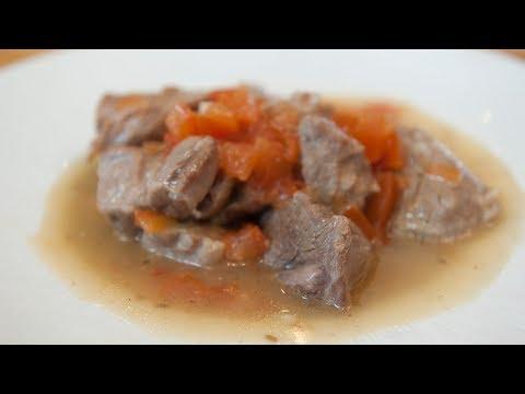 Ragoût de mouton à la tomate
