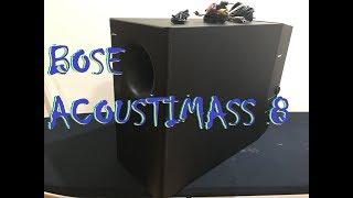 BOSE ACOUSTIMASS 8 SUBWOOFER - Bass Test