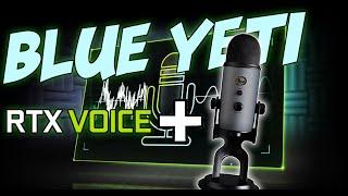 Blue Yeti Slate UNBOXING & RTX VOICE Test