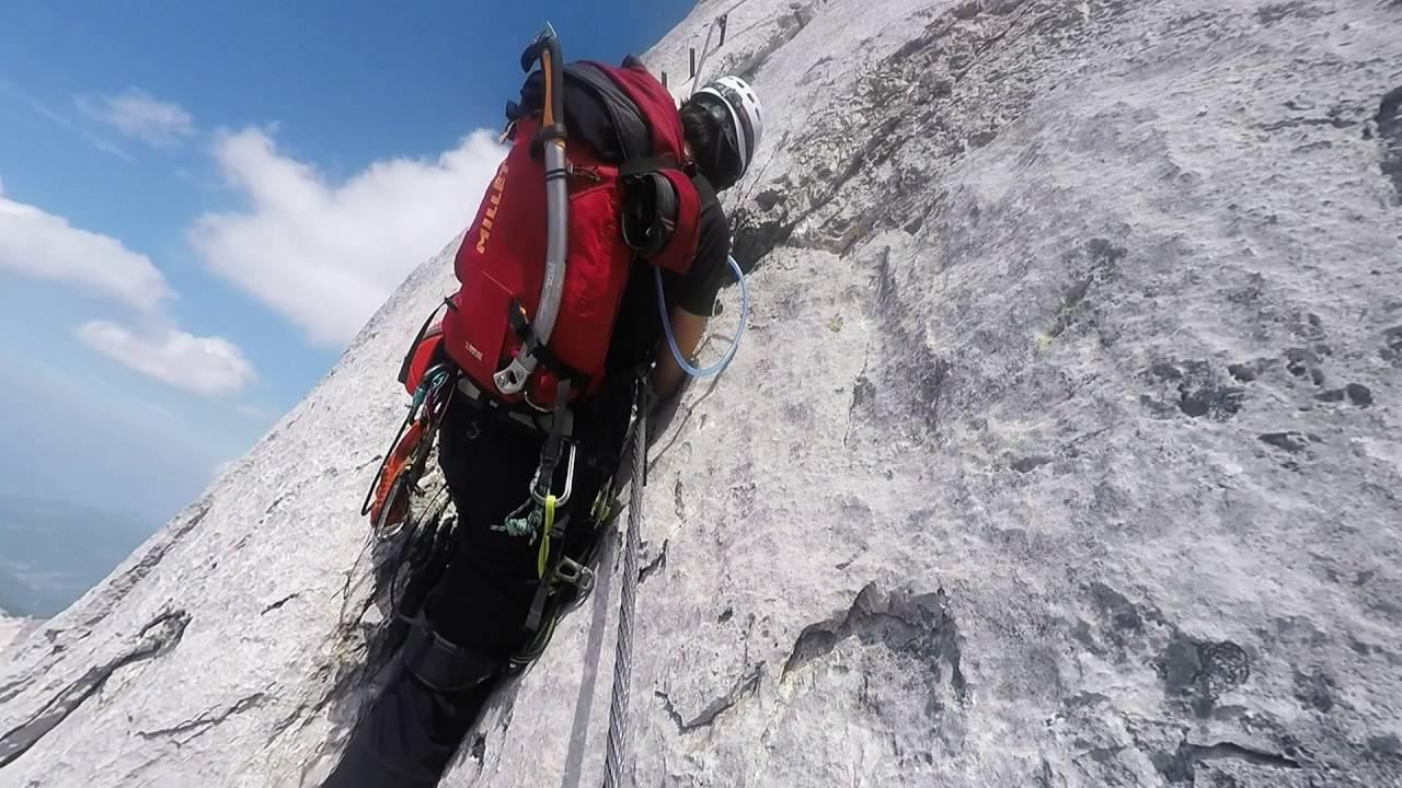 Klettersteig Johann Dachstein : Johann klettersteig am dachstein youtube