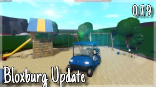 ROBLOX | Welcome To Bloxburg: Update 0.7.9 (Golf Cart, Swings, Trampolines)