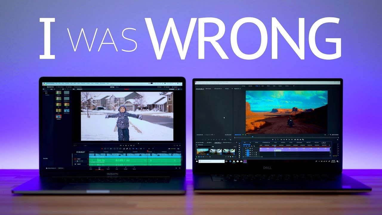 2018 i9 Macbook Pro vs Dell XPS 9570 - VIDEO EDITING ...